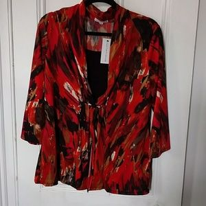 New Women's blouse with 3/4 sleeves